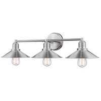 Z-Lite 613-3V-BN Casa 3 Light 27 inch Brushed Nickel Vanity Wall Light