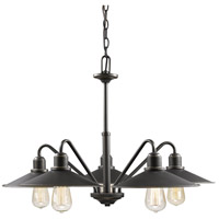 Z-Lite 613-5-OB Casa 5 Light 30 inch Olde Bronze Chandelier Ceiling Light in Olde Bronze Steel