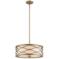 Severine 3 Light 16 inch Old Gold Pendant Ceiling Light
