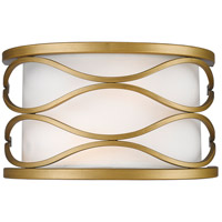 Severine 2 Light 10 inch Old Gold Wall Sconce Wall Light in 16