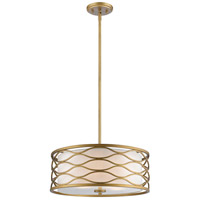 Severine 4 Light 20 inch Old Gold Pendant Ceiling Light