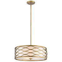 Z-Lite 615-24OG Severine 5 Light 24 inch Old Gold Pendant Ceiling Light