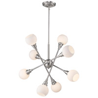 Z-Lite 616-8C-BN Tian 8 Light 29 inch Brushed Nickel Pendant Ceiling Light in G9