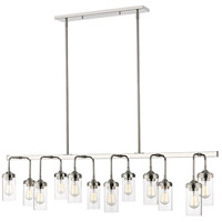 Z-Lite 617-12L-PN Calliope 12 Light 60 inch Polished Nickel Pendant Ceiling Light