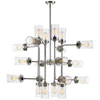 Z-Lite 617-20PN Calliope 20 Light 42 inch Polished Nickel Pendant Ceiling Light