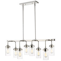 Z-Lite 617-8L-PN Calliope 8 Light 40 inch Polished Nickel Pendant Ceiling Light