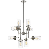 Z-Lite 617-8PN Calliope 8 Light 32 inch Polished Nickel Pendant Ceiling Light