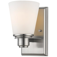 Kayla 1 Light 5 inch Brushed Nickel Wall Sconce Wall Light
