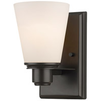 Kayla 1 Light 5 inch Bronze Wall Sconce Wall Light