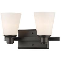 Z-Lite 7001-2V-BRZ Kayla 2 Light 14 inch Bronze Vanity Wall Light