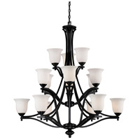 Z-Lite Lagoon 15 Light Chandelier in Bronze 702-15-BRZ