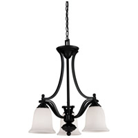 Z-Lite Lagoon 3 Light Chandelier in Bronze 702-3-BRZ