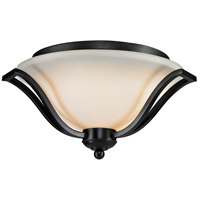 Lagoon 3 Light 19 inch Bronze Flush Mount Ceiling Light