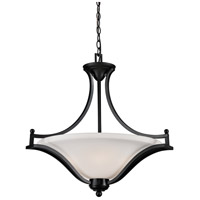 Z-Lite Lagoon 3 Light Pendant in Bronze 702P-BRZ