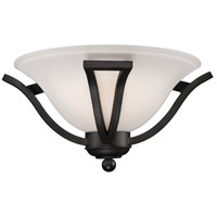 Lagoon 1 Light 15 inch Matte Black Wall Sconce Wall Light