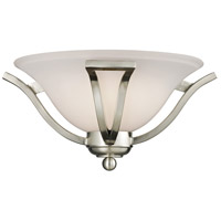 Z-Lite 704-1S-BN Lagoon 1 Light 15 inch Brushed Nickel Wall Sconce Wall Light