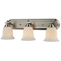 Z-Lite Lagoon 3 Light Vanity in Brushed Nickel 704-3V-BN