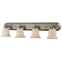 Z-Lite Lagoon 4 Light Vanity in Brushed Nickel 704-4V-BN