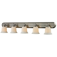 Z-Lite 704-5V-BN Lagoon 5 Light 48 inch Brushed Nickel Vanity Wall Light