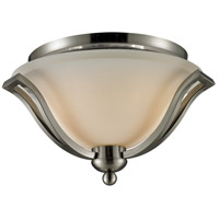 Z-Lite Lagoon 2 Light Flush Mount in Brushed Nickel 704F2-BN