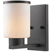 Roxburgh 1 Light 5 inch Bronze Wall Sconce Wall Light