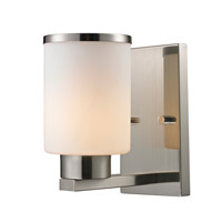 Z-Lite Roxburgh 1 Light Wall Sconce in Brushed Nickel 706-1S-BN