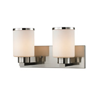 Z-Lite Roxburgh 2 Light Vanity in Brushed Nickel 706-2V-BN