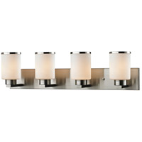 Roxburgh 4 Light 32 inch Brushed Nickel Vanity Wall Light