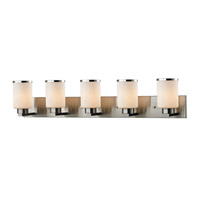 Z-Lite 706-5V-BN Roxburgh 5 Light 40 inch Brushed Nickel Vanity Light Wall Light