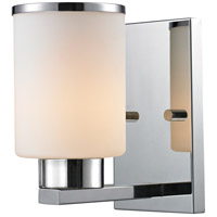 Z-Lite 707-1S-CH Roxburgh 1 Light 5 inch Chrome Wall Sconce Wall Light