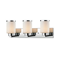 Roxburgh 3 Light 23 inch Chrome Vanity Wall Light
