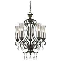 Z-Lite Melina 5 Light Chandelier in Golden Bronze 720-5-GB