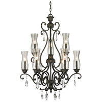 Z-Lite Melina 9 Light Chandelier in Golden Bronze 720-9-GB