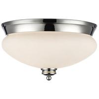 Z-Lite 721F2-CH Amon 2 Light 13 inch Chrome Flush Mount Ceiling Light