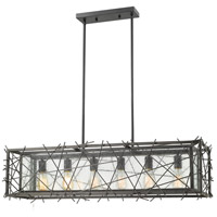 Z-Lite 8000-6L-BRZ Stanwood 6 Light 42 inch Bronze Island Light Ceiling Light