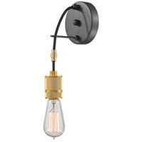 Z-Lite 8001-1S-BRZ Troubadour 1 Light 5 inch Bronze Wall Sconce Wall Light
