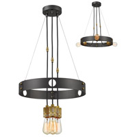 Troubadour 3 Light 18 inch Bronze Chandelier Ceiling Light