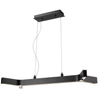 Z-Lite 8002-42MB-LED Arcano 5 Light 18 inch Matte Black Pendant Ceiling Light