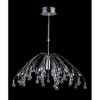 Z-Lite Parisian 12 Light Crystal Chandelier in Chrome 811CH photo thumbnail