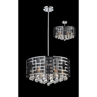 Z-Lite Mirach 6 Light Crystal Chandelier in Chrome 839CH