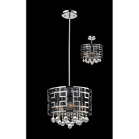 Z-Lite Mirach 6 Light Crystal Chandelier in Chrome 841CH