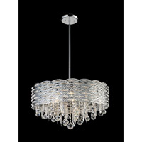 Z-Lite Adara 6 Light Crystal Chandelier in Chrome 842CH