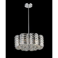 Z-Lite Adara 5 Light Crystal Chandelier in Chrome 843CH