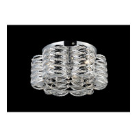 Z-Lite Adara 3 Light Flush Mount in Chrome 844CH photo thumbnail