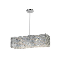 Z-Lite Adara 6 Light Crystal Chandelier in Chrome 845CH