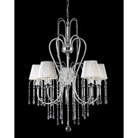 Z-Lite Palomar 5 Light Crystal Chandelier in Chrome 847CH photo thumbnail