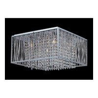 Z-Lite Zenith 5 Light Crystal Chandelier in Chrome 855CH