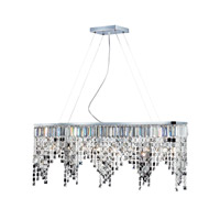 Nyssa 8 Light 36 inch Chrome Island/Billiard Ceiling Light