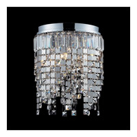 Z-Lite Nyssa 5 Light Flush Mount in Chrome 859CH