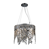Z-Lite Nyssa 8 Light Crystal Chandelier in Chrome 860CH
